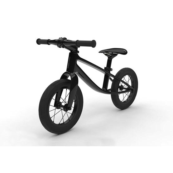 Kiddimoto - Balanscykel - Karbon - Black Glossy