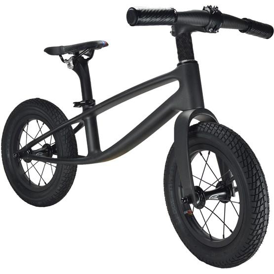 Kiddimoto - Balanscykel - Karbon -Black Matt