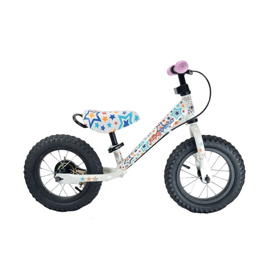 Kiddimoto - Balanscykel - Super Junior Max - Stars