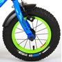 Barncykel Volare Rocky 12 tum (Blå/Grön)