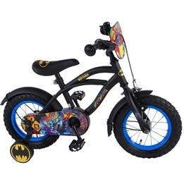 Batman Barncykel Cruiser 12 tum - Stödhjul (Svart)