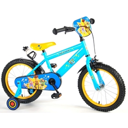 Toy Story 4 Barncykel 16 tum - Stödhjul, flaskhållare, frontplatta