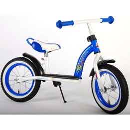 "Yipeeh - Luxe Metalen Loopfiets 12"" - Thombike Blue"