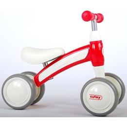 Gåcykel -Qplay - 4 Hjul - Röd