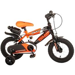 Volare - Sportivo 12 Tum - Orange/Svart - Dubbla Handbromsar