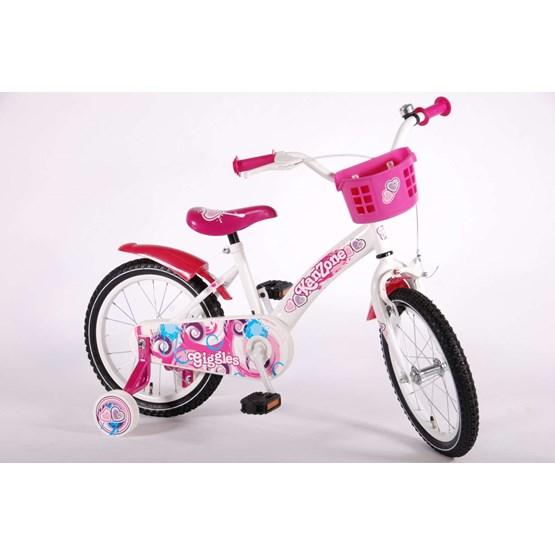 rosa cykel 16 tum