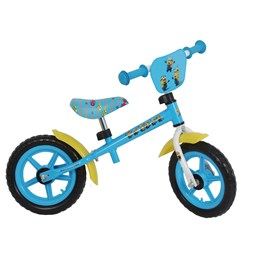 Minioner - Blue Yellow Balance Bike 12""