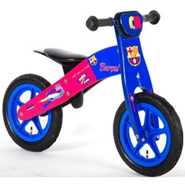 Fc Barcelona - Wooden Balance Bike 12""