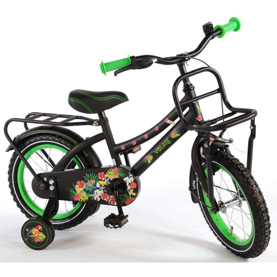 "Volare - Tropical Girls 14"" Girls Bicycle - 95% Monterad"