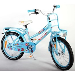 """Volare - Liberty Urban Flowerie Ice Blue 18"""" Girls Bicycle"""