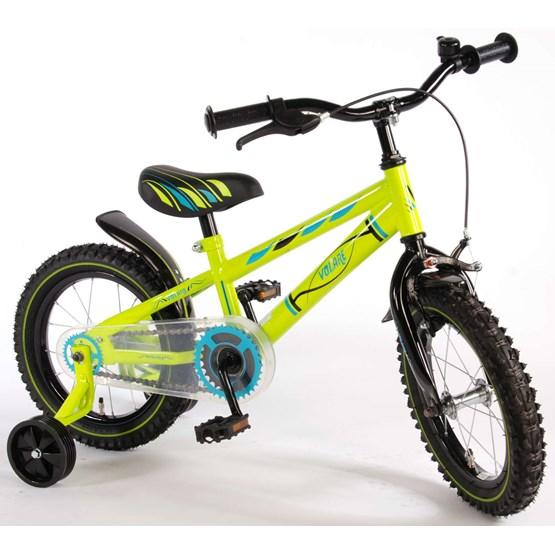 "Volare - Barncykel - Electric Green 14"""