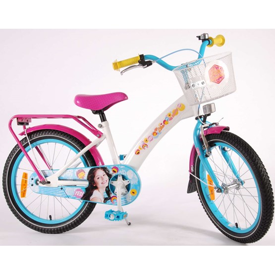 "Soy Luna - 18"" Girls Bicycle - 95% Monterad"