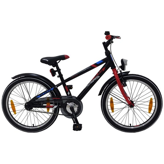 "Volare - Blade 20"" Boys Bicycle - 95% Monterad - Svart"