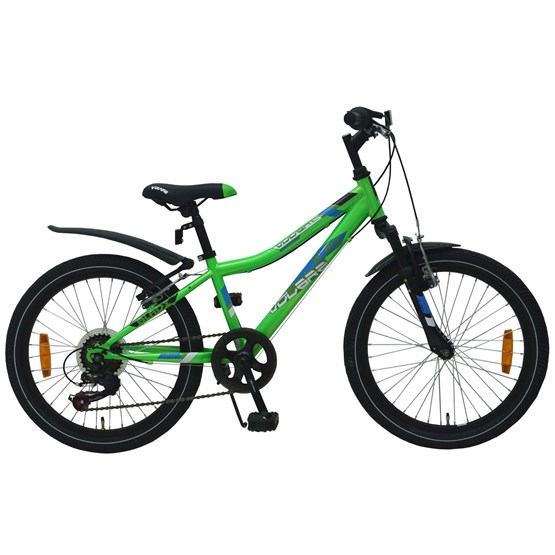"Volare - Blade 20"" Green 6 Speed Boys Bicycle - 95% Monterad"