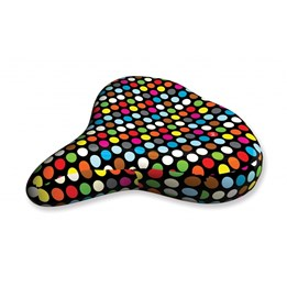 Liix - Sadelskydd - Saddle Cover Polka Dots Mix Black