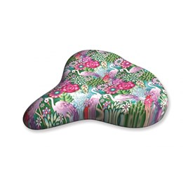 Liix - Sadelskydd - Saddle Cover Catalina Estrada Flowers & Flamingos
