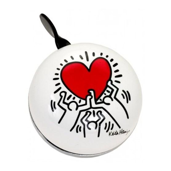 Liix - Ringklocka - Ding Dong Bell Keith Haring Heart