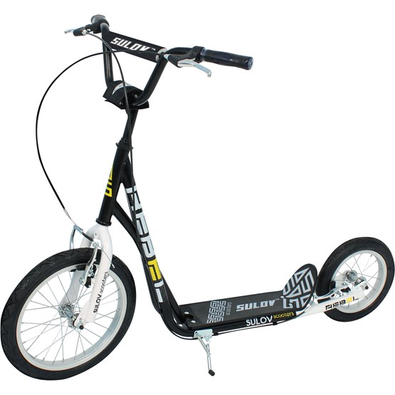 Sulow - Sparkcykel Rebel Black/White