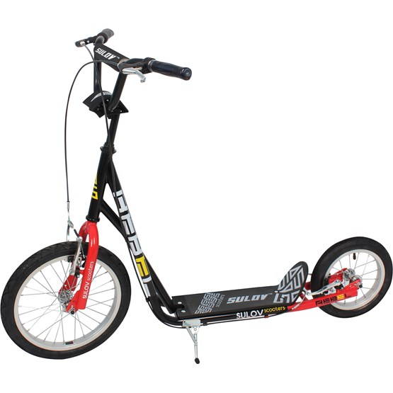 Sulow - Sparkcykel Rebel Black/Red