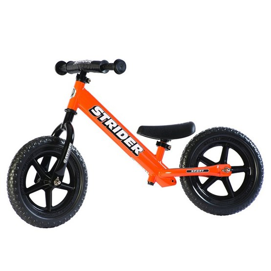 "Strider - Balanscykel - Sport 12"" - Orange"