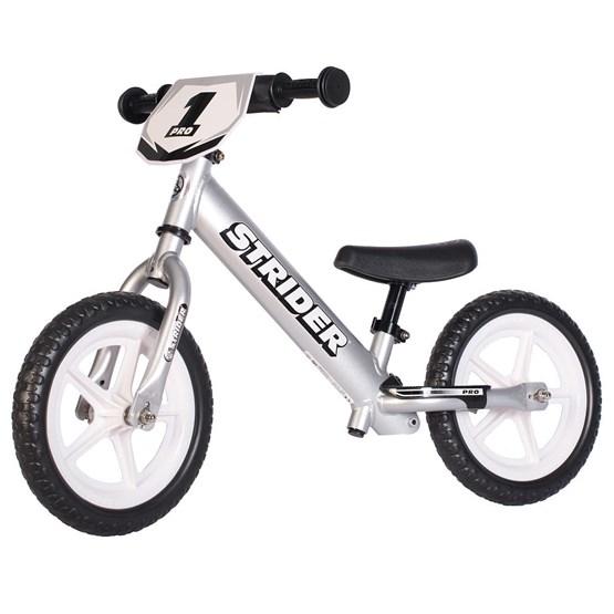 "Strider - Balanscykel - Pro 12"" - Silver"