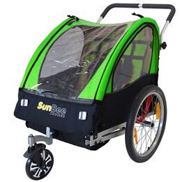 Sunbee - Barnvagnsframhjul Med Gaffel - Roterbart